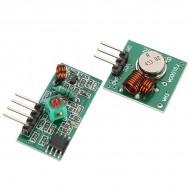 Радио передатчик и приемник 433 MГц Arduino