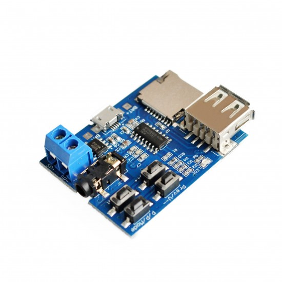 Модуль MP3 плеер USB + TF Card