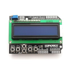 Arduino LCD Keypad Shield 1602