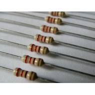 Резистор 470 Ом 470R 0K47 выводной 0,125Вт (5 шт/уп)