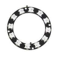 WS2812 LED Ring Module 12 LEDs RGB 5050 4 pin