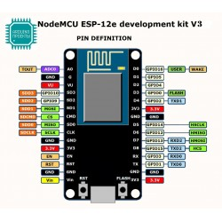 NodeMCU development board ESP8266 esp-12F + CH340G arduino