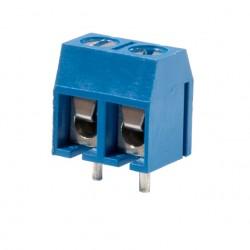 Клеммник винтовой CY301V-5.0-2P шаг 5мм