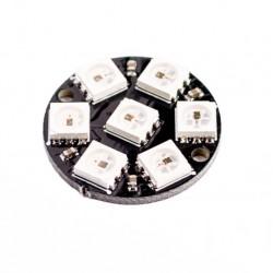 WS2812 LED module circle 7 LEDs RGB 5050 4 pin