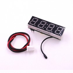 "DS3231sn Clock, voltmeter, car thermometer 3 in 1 red 0.39 ""5-30V"