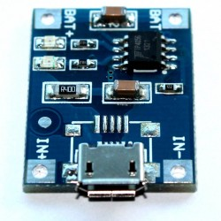 TP4056 Micro-USB Li-Ion Charge Controller
