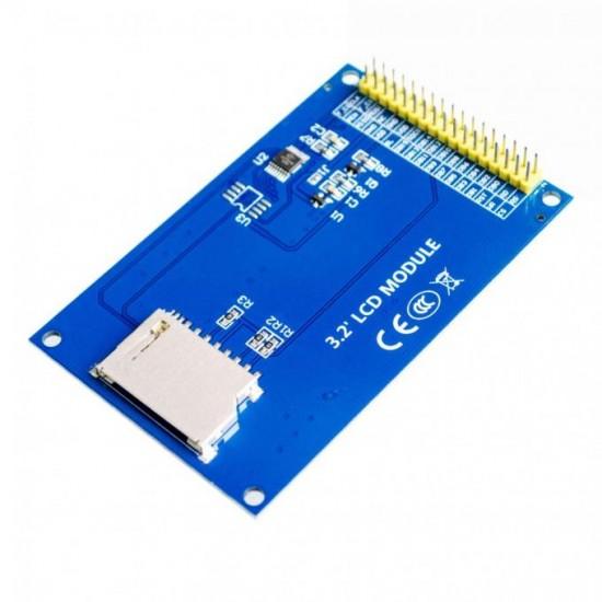 """Сенсорный 3.2"""" цветной дисплей TFT-шилд  320 х 480 для Arduino Mega 2560"""