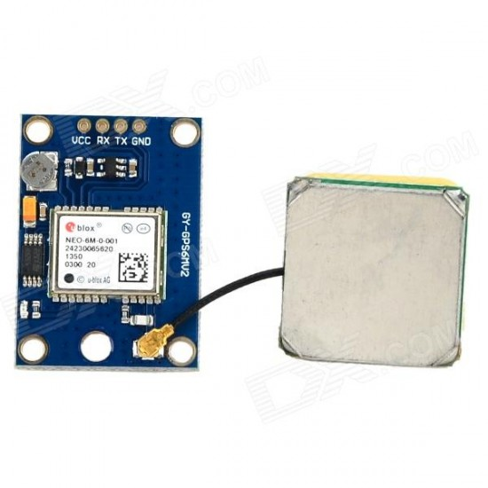 GPS NEO-6M module for Arduino AVR PIC ARM STM