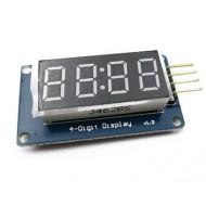 Arduino 4-digit LED indicator on TM1637