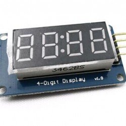 Arduino 4-digit LED indicator on TM1637