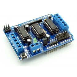 Arduino Motor Shield L293D Engine Control