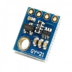 Arduino Temperature Humidity Sensor GY-21 HTU21