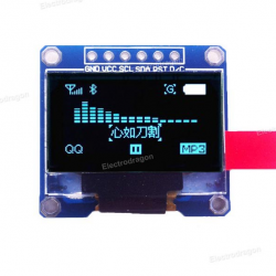 Arduino LCD OLED Display 128 × 64 SPI