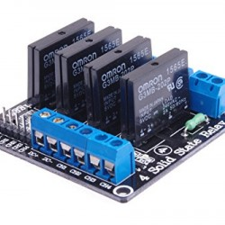 Arduino Relay 4 Channel Solid State G3MB-202P