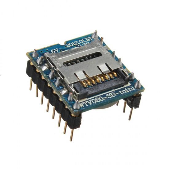 WTV020 MicroSD MP3 Arduino Sound Module