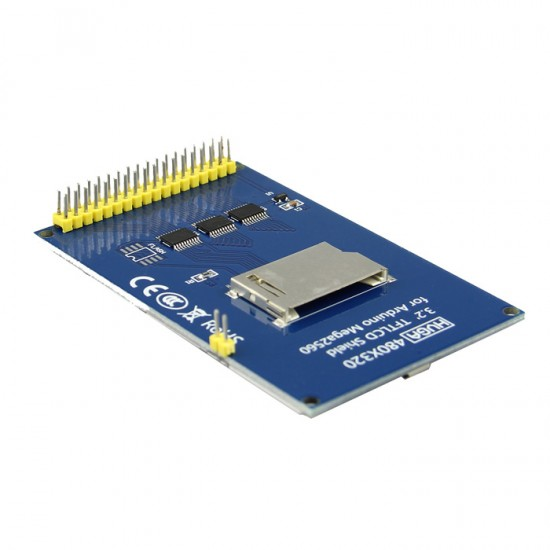 "3.2 ""color display TFT shield 320x480 for Arduino Mega 2560"