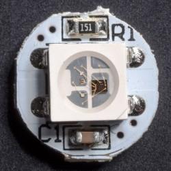 WS2812 LED module circle 1 LED RGB 5050 4 pin