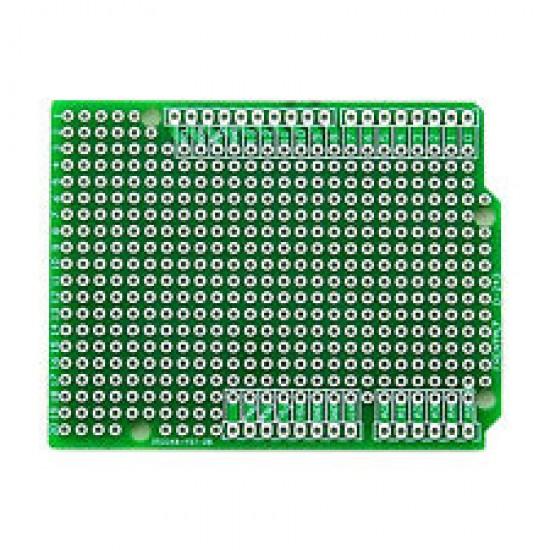 Плата прототипирования Arduino Uno Shield под пайку