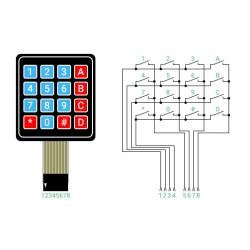 Клавиатура матричная 4х4